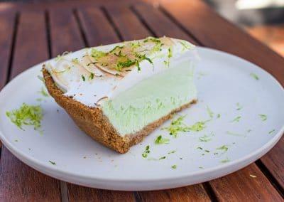 Nannie's Frozen Lime Pie
