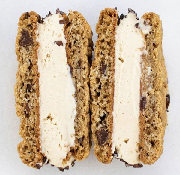Ice Cream Sandwich - Peanut Butter Oatmeal