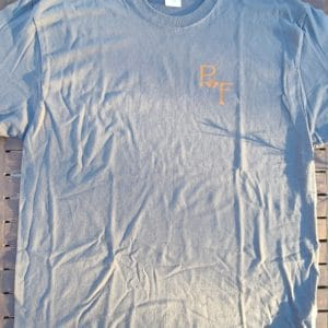 Gray crew t-shirt